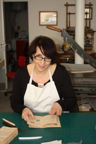 Muriel Morlent Artisan Relieur d'art Paris