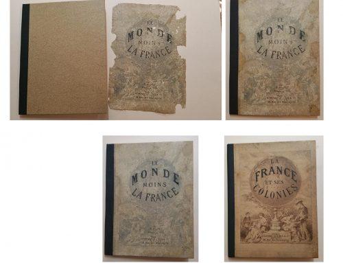 «Restauration du livre «Atlas»