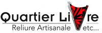 Quartier Livre Atelier de reliure Paris 14e Logo