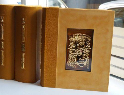 """Cartonnage coffrets – """"Victor Hugo"""""""